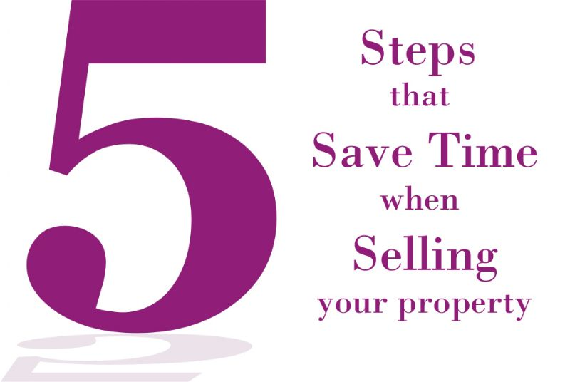 5 Time Saving Tips To Selling Your Home