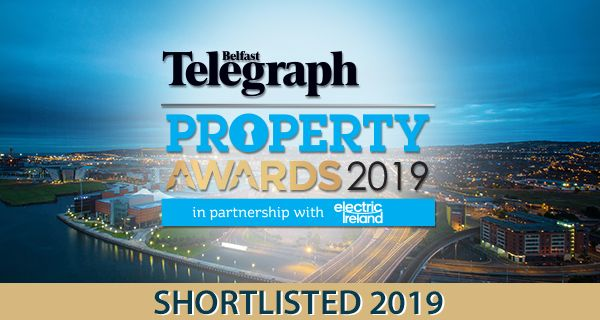 Pinpoint nominated for three Belfast Telegraph Property Awards