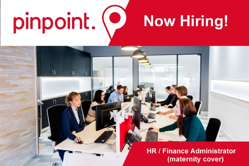 Now Hiring: HR/Finance Administrator (maternity cover)