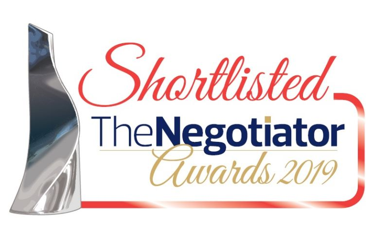 Shortlisted for Negotiator Awards