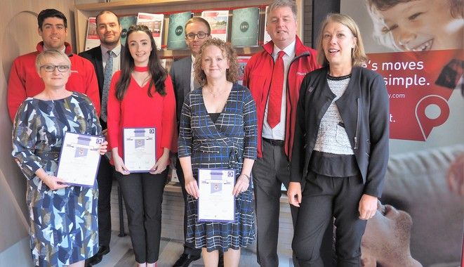 Pinpoint Employees Awarded Property Management Certs