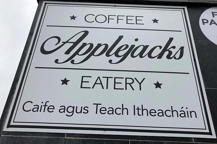 Applejacks Cafe, Unit 1 Caffrey Avenue, Glen Road, Belfast, BT11 8RF