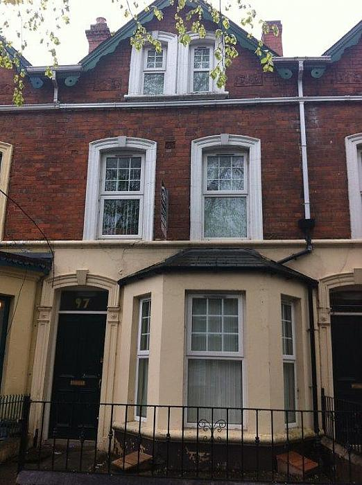 Flat 2, 97 University Avenue, Holylands, Belfast BT7 1GX, Belfast